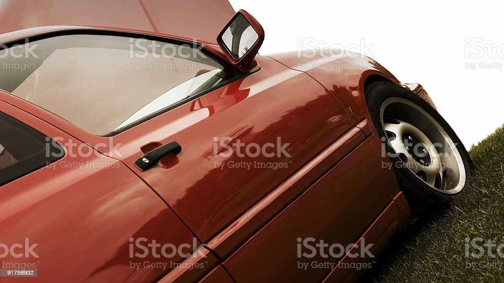 Custom Hatchback royalty-free stock photo