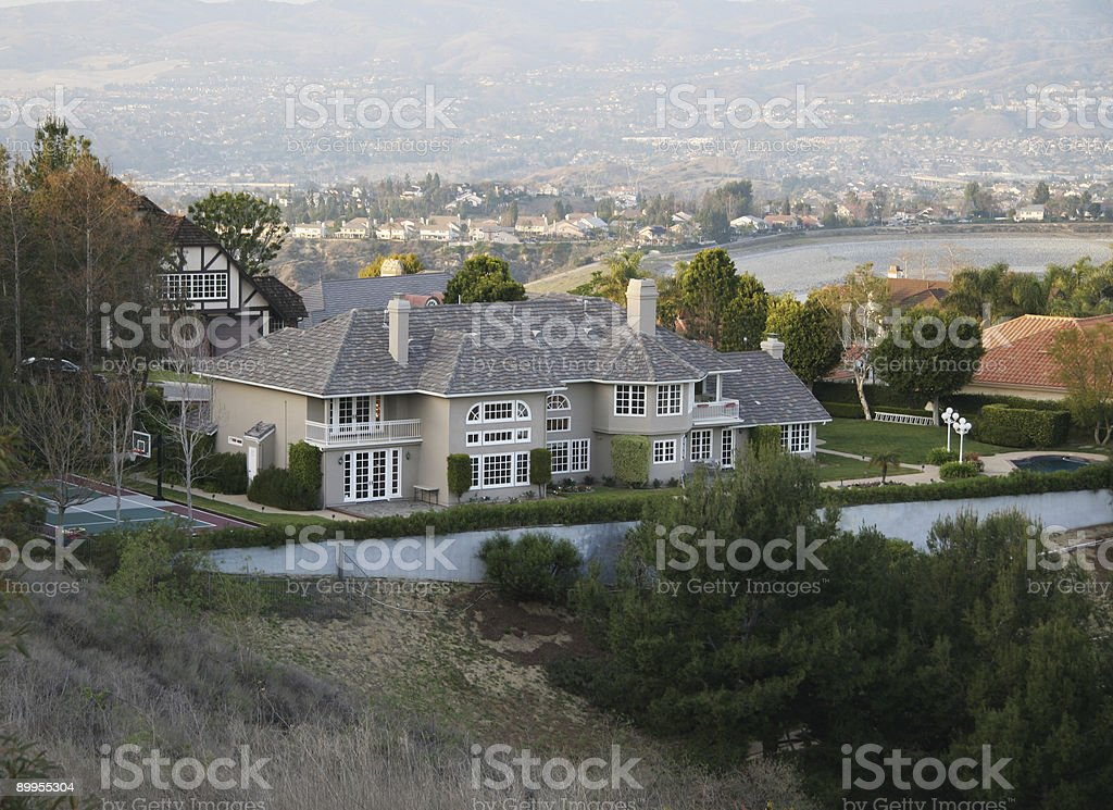 Custom Home royalty-free stock photo