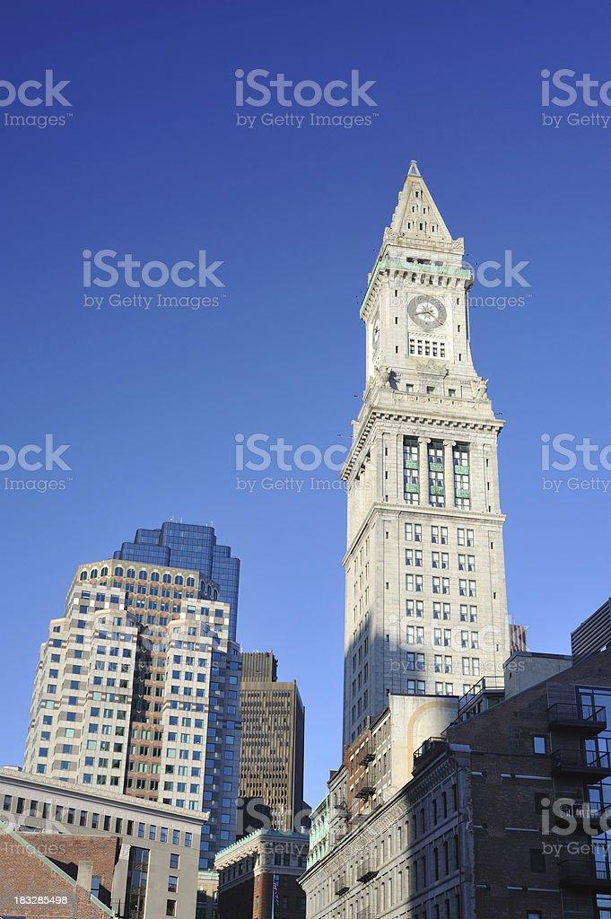 Custom House in Boston stock photo