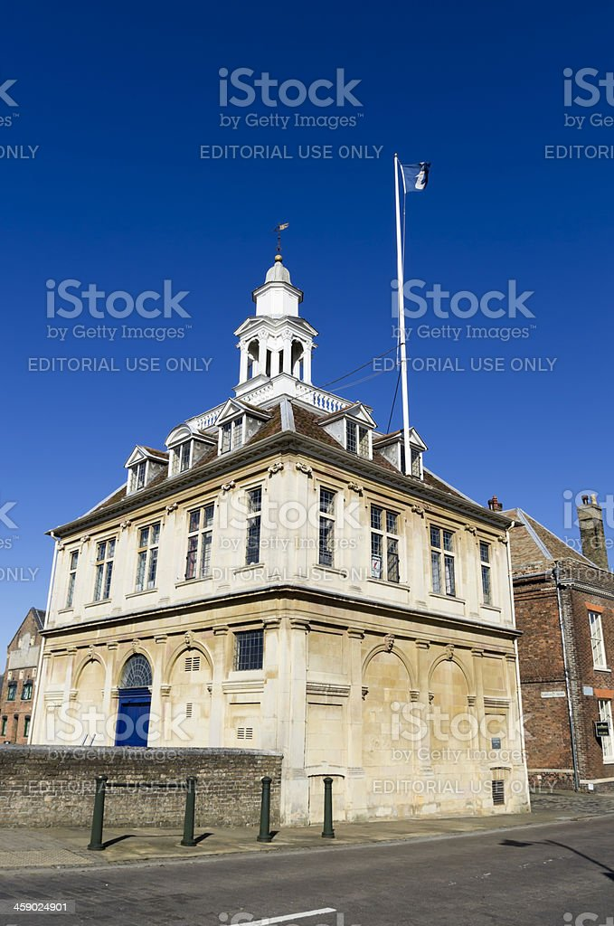 Custom House, King's Lynn, from the road stock photo