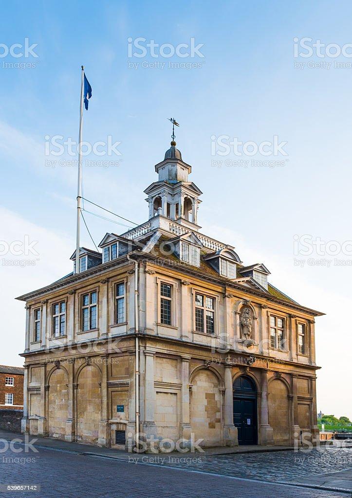 Custom House King's Lynn Norfolk stock photo