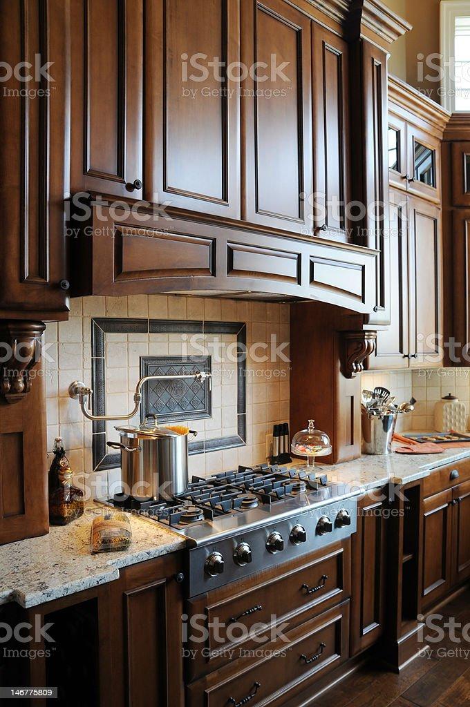 Custom Kitchen royalty-free stock photo