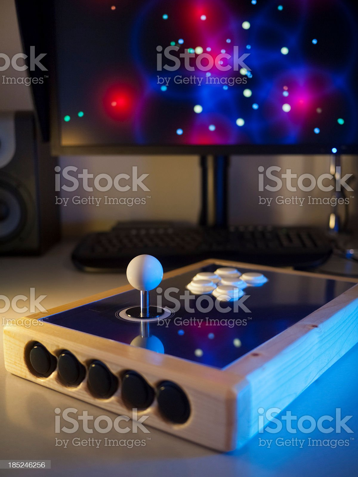 Custom made game controller royalty-free stock photo