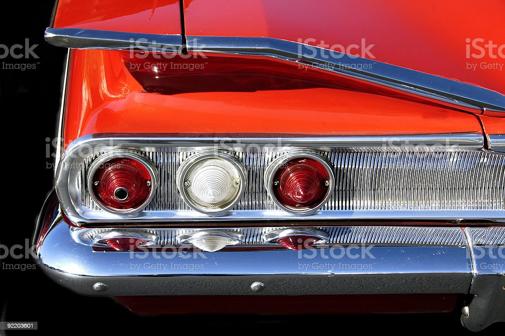 Custom Tailights stock photo