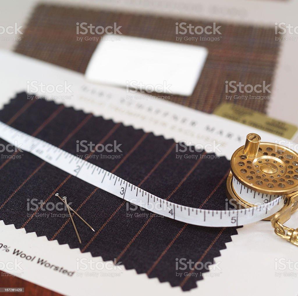 Custom tailor royalty-free stock photo