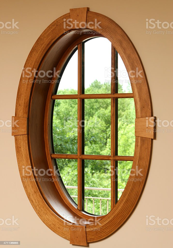 Custom Window stock photo