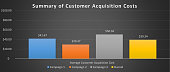 Customer Acquisition Cost Graph