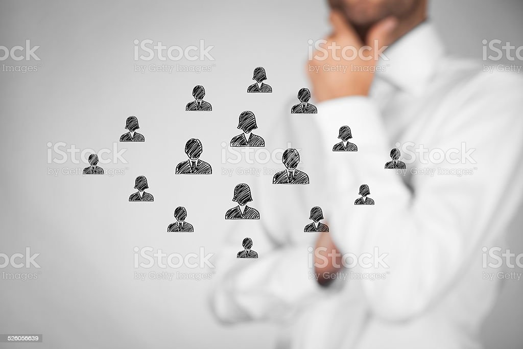 Customer care or human resources stock photo