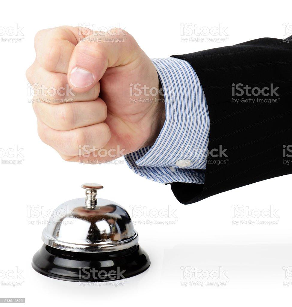 Customer complaint stock photo