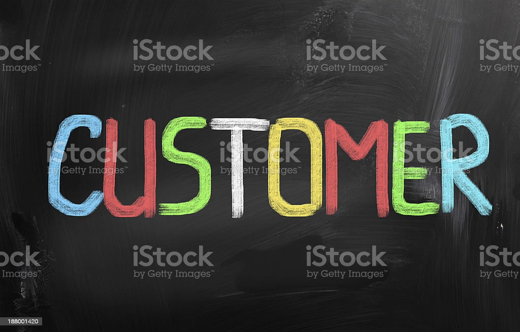 Customer Concept royalty-free stock photo