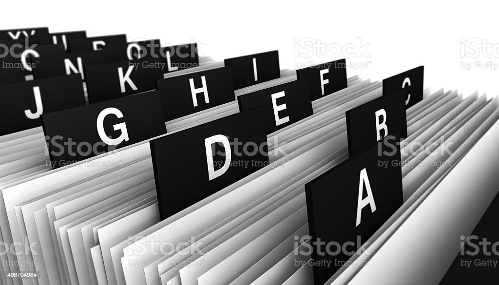 Customer Directory Office Business stock photo