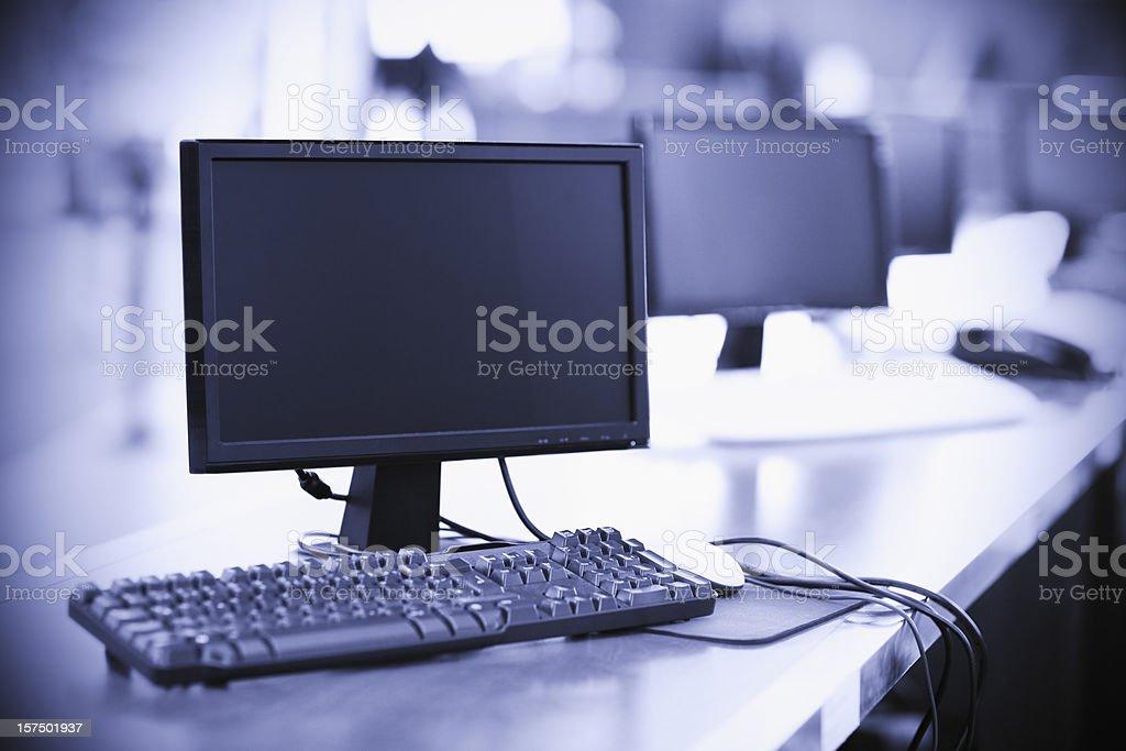 Customer help desk royalty-free stock photo