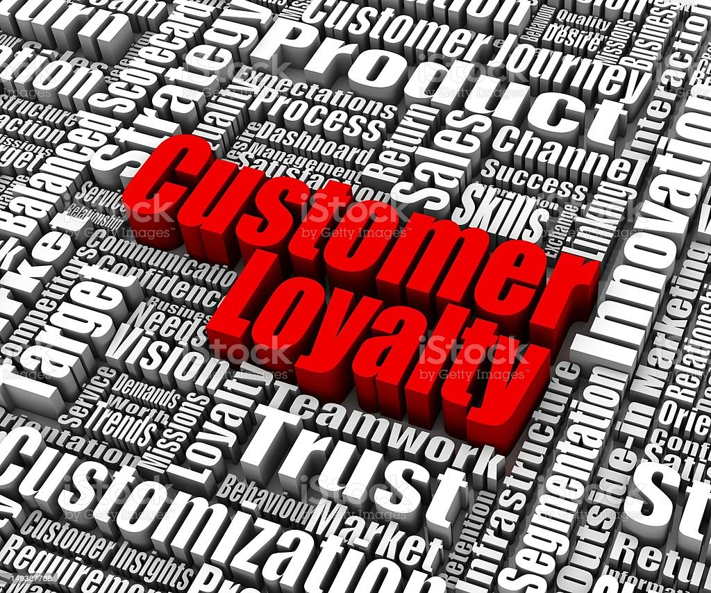 Customer Loyalty royalty-free stock vector art