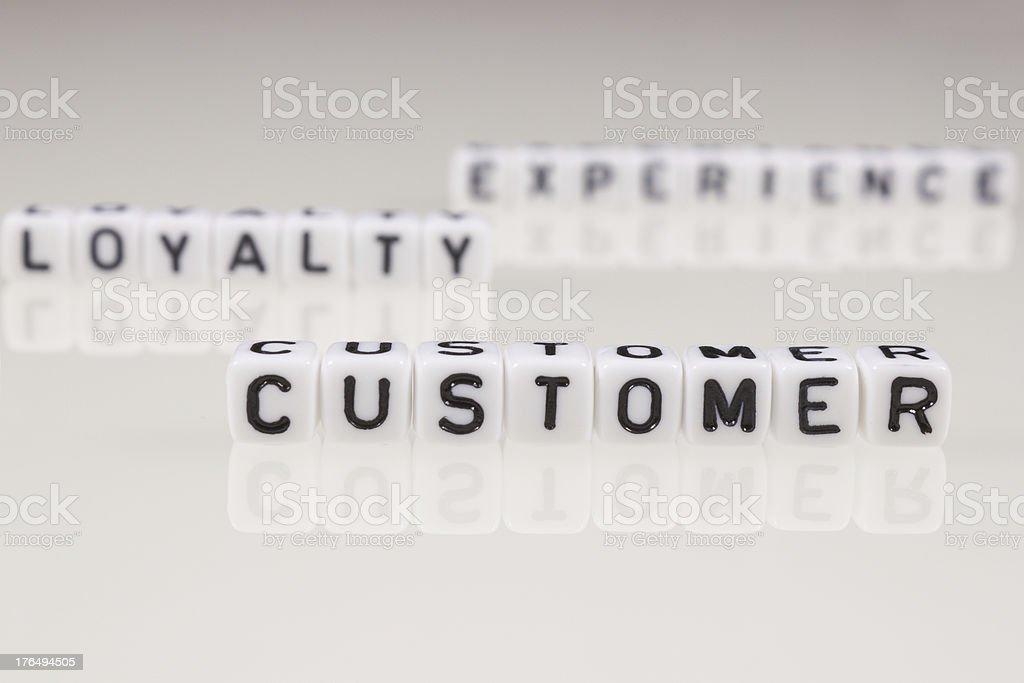 Customer royalty-free stock photo