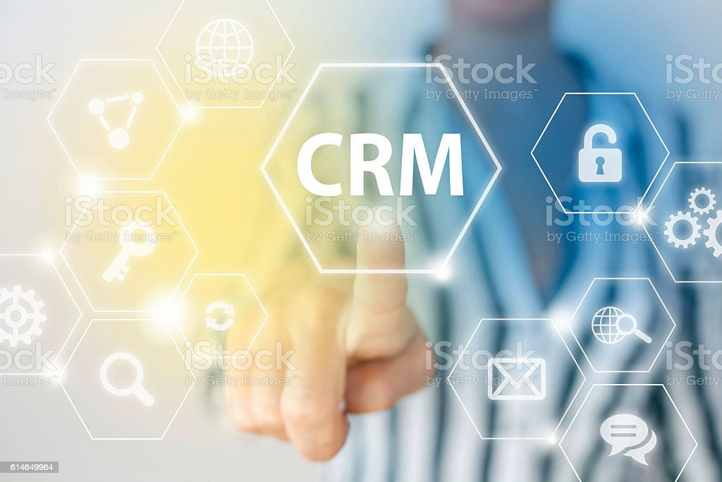 Customer Relationship Management stock photo