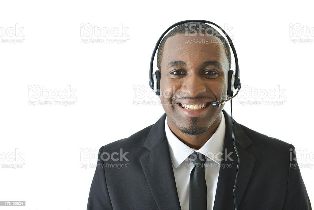 Customer Service Representative royalty-free stock photo
