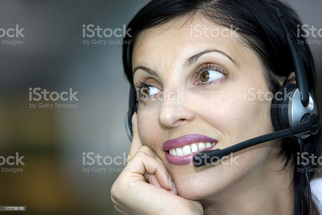 Customer support royalty-free stock photo