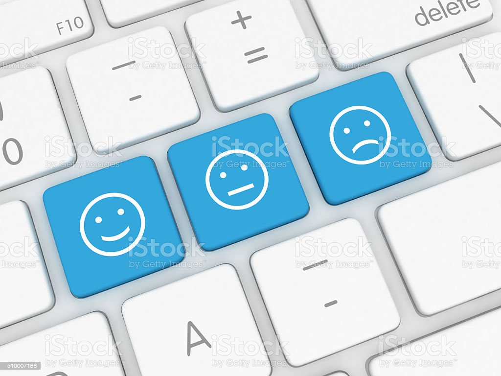 Customer survey feedback stock photo