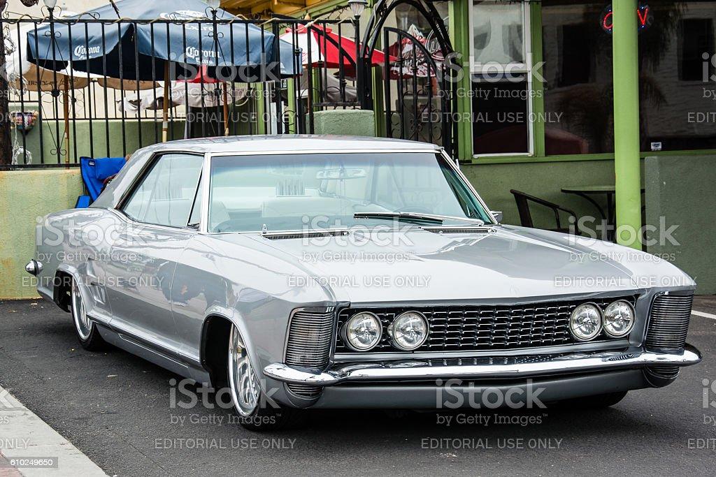 Customized 1963 Buick Riviera stock photo