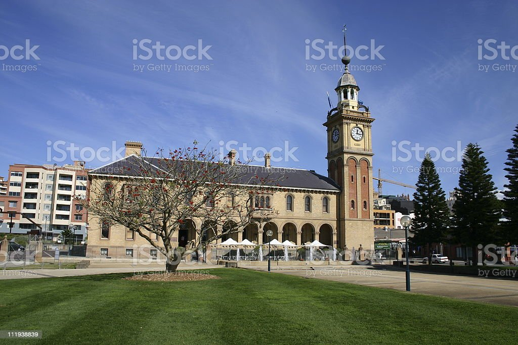 Customs House Newcastle royalty-free stock photo