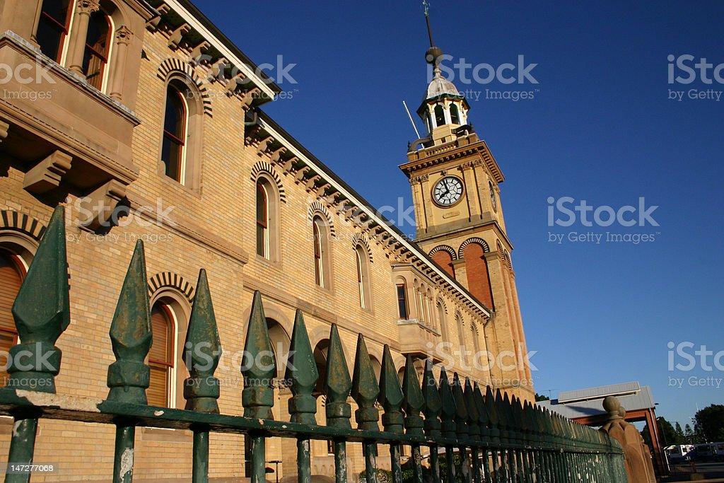 customs house royalty-free stock photo