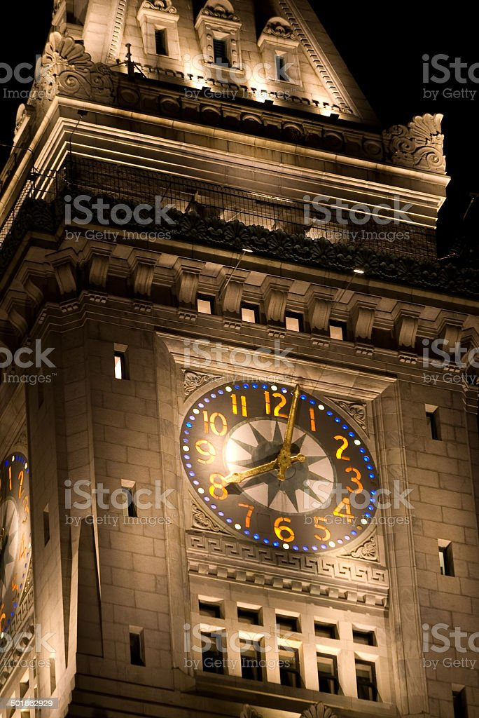 Customs House Tower stock photo