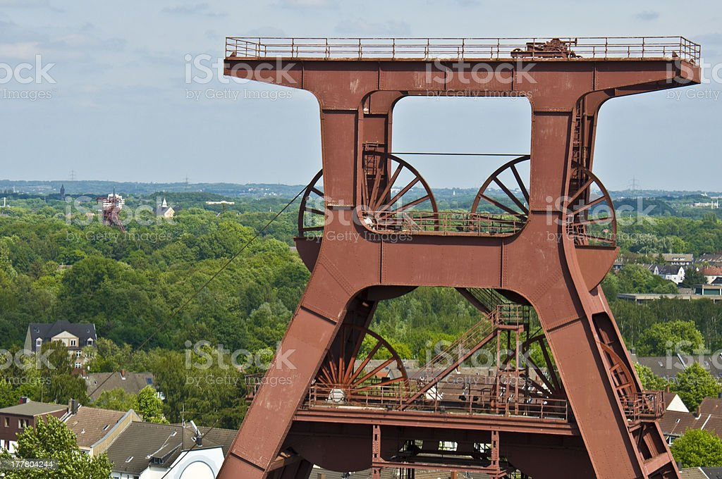 Zollverein stock photo