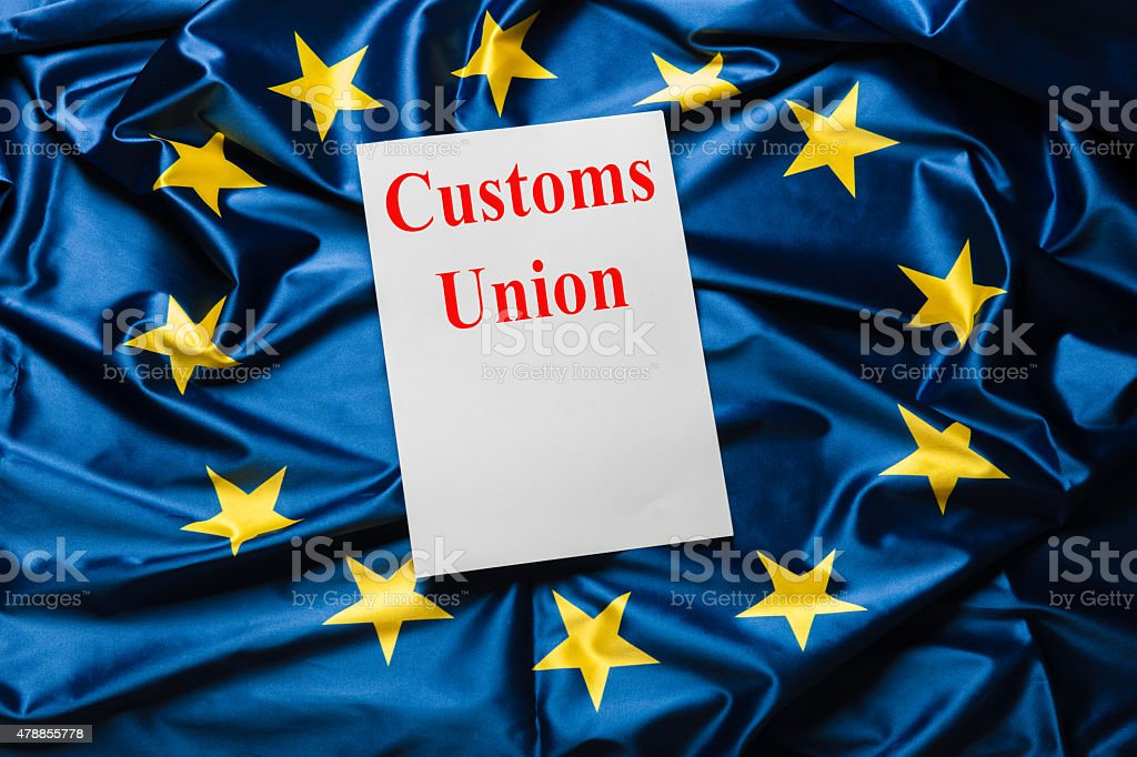Customs Union stock photo
