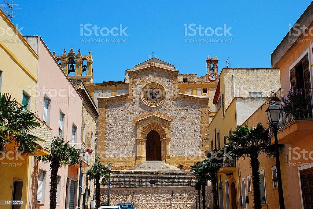 Custonaci (Trapani) - Sicily stock photo