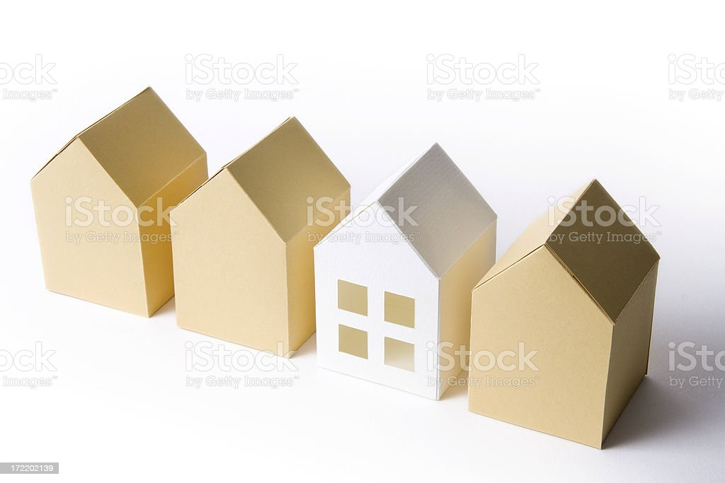 Cut above the rest stock photo