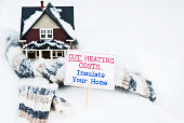 Cut Heating Costs. Insulate Your Home