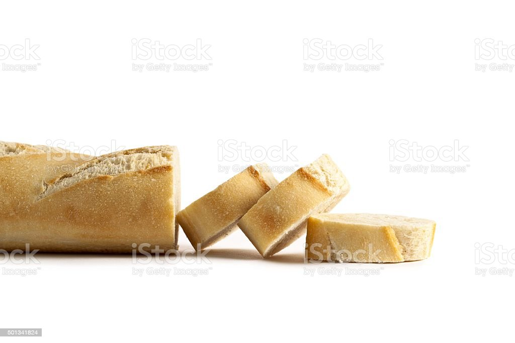 cut of bread stock photo