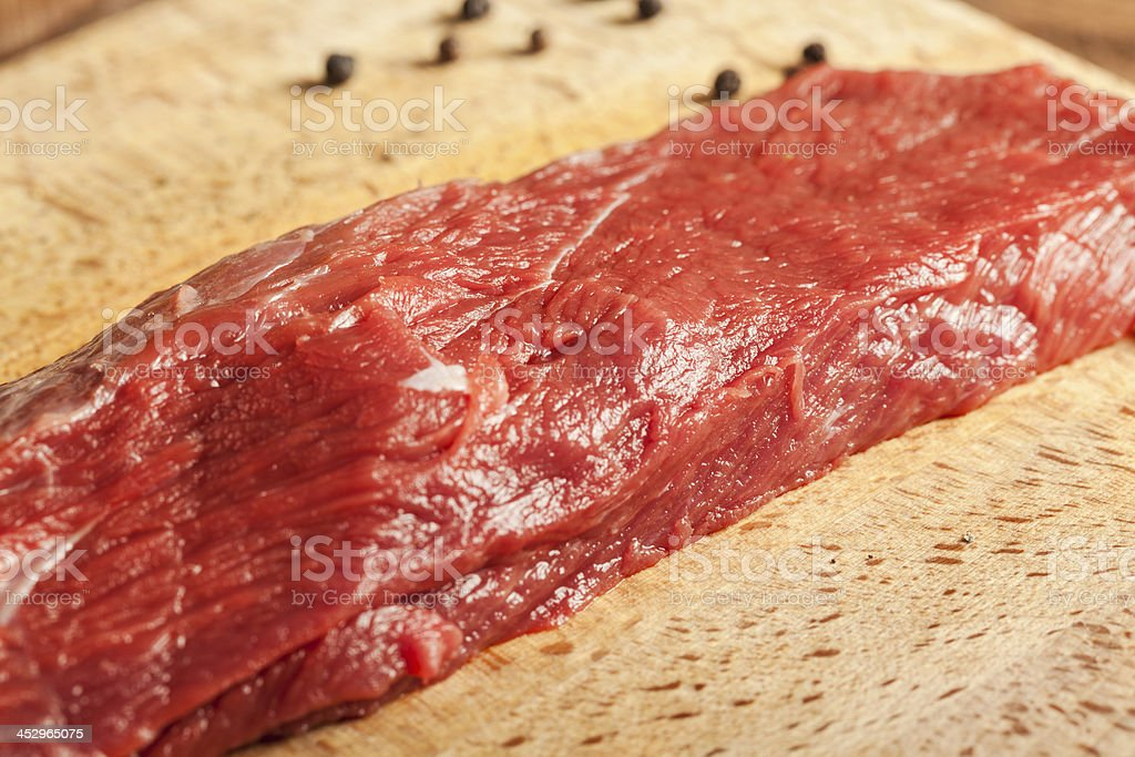 Cut of meat royalty-free stock photo