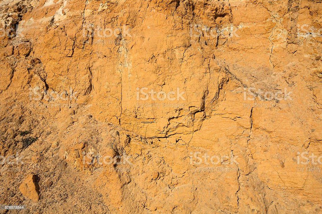 Cut sandstone texture stock photo