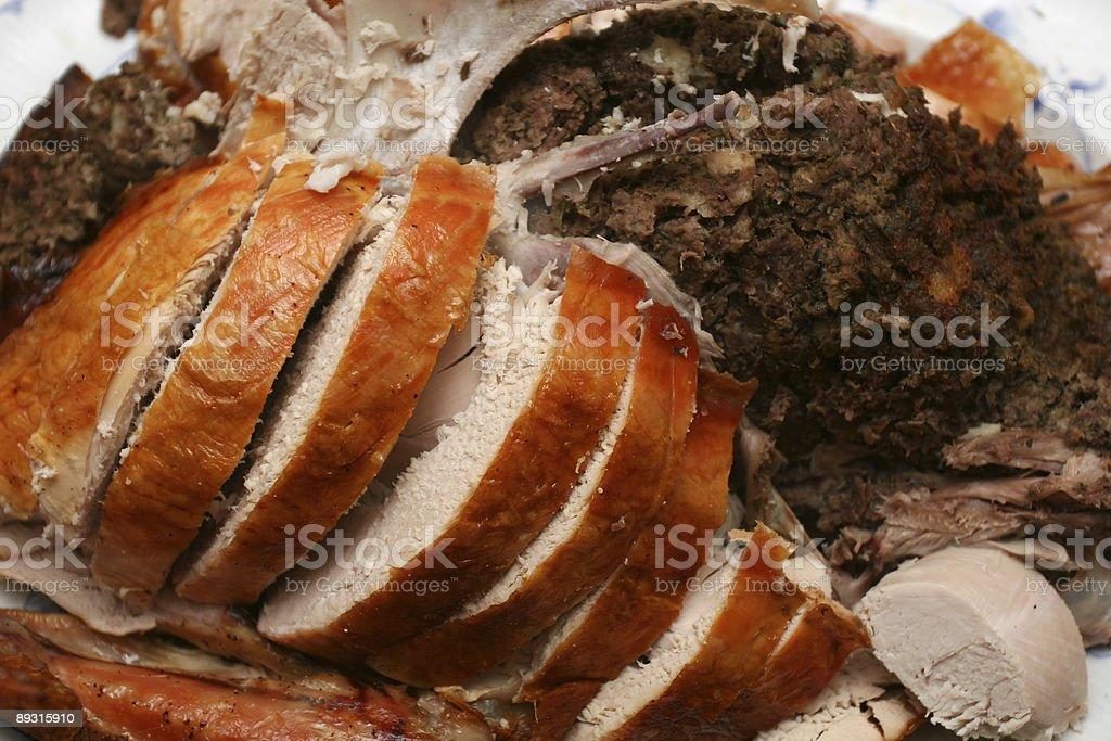 Cut Turkey royalty-free stock photo