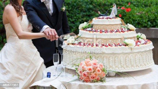 Торт на свадьбе фото