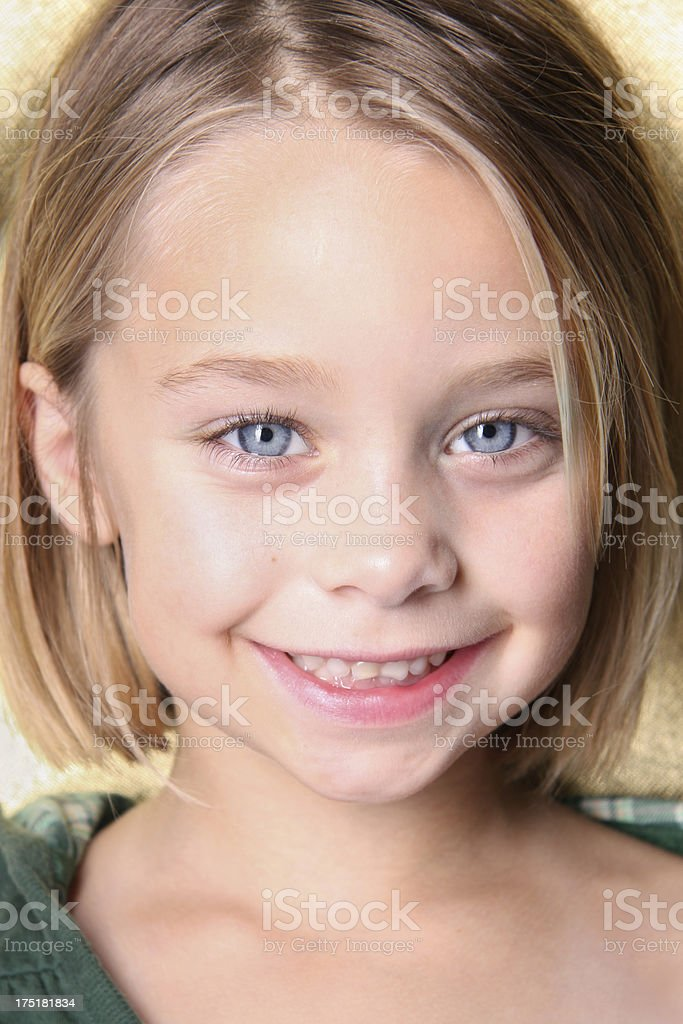 Cute all-american blonde girl royalty-free stock photo