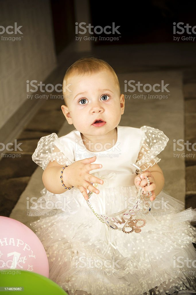 Cute and Little Girl royalty-free stock photo