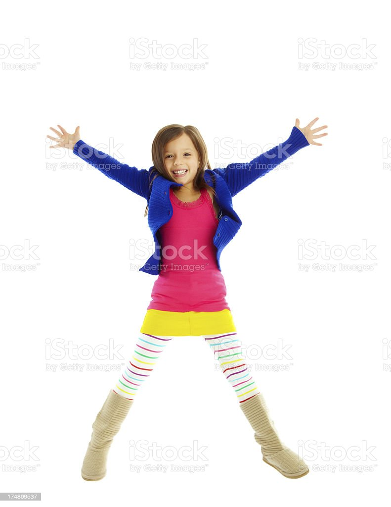 Cute and playful stock photo