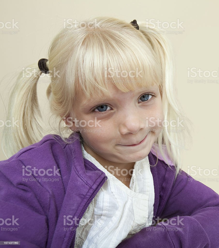 Cute as a Button royalty-free stock photo