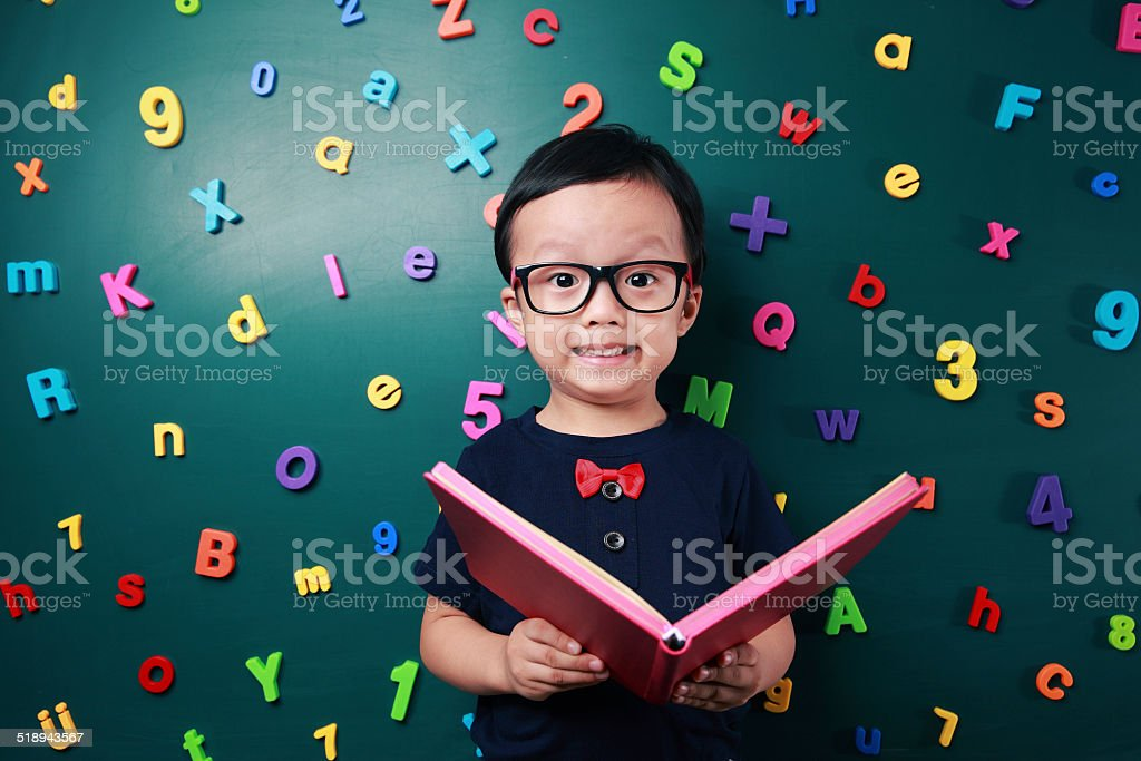 Cute asia children stock photo
