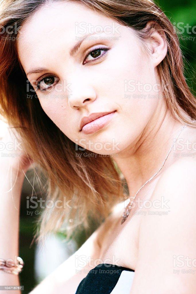 Cute babe stock photo