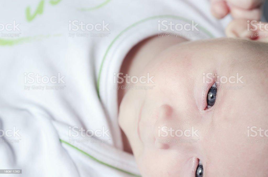 Cute Baby Boy Close up royalty-free stock photo