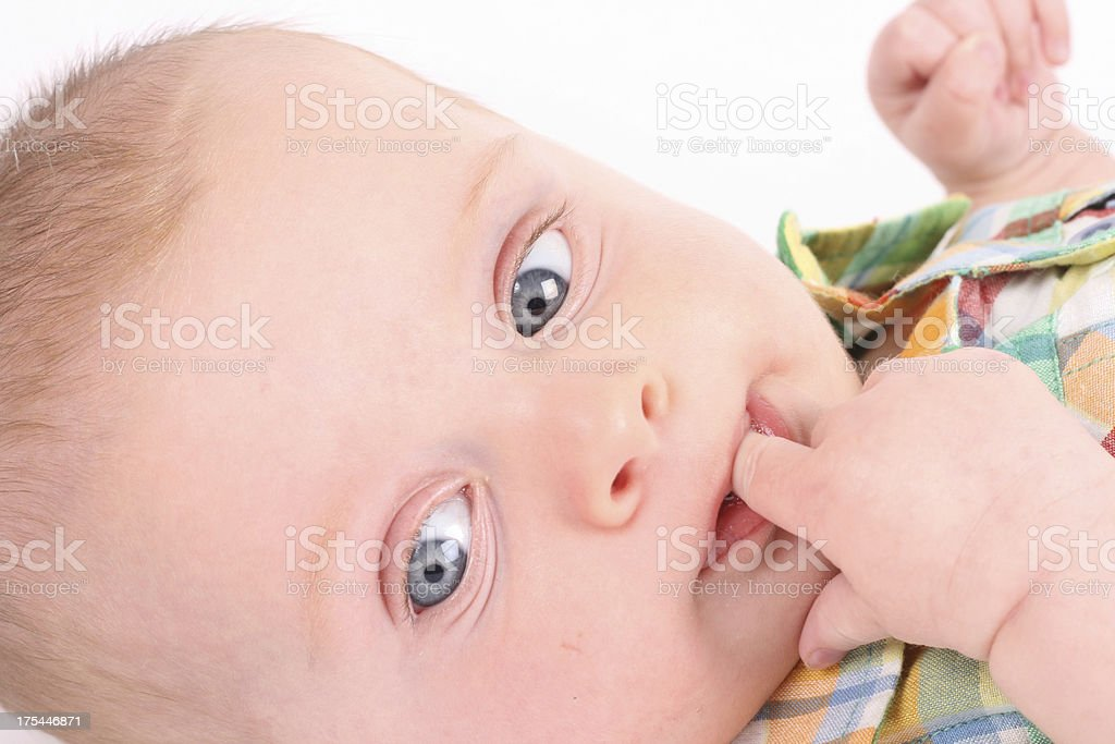 Cute Baby Boy royalty-free stock photo