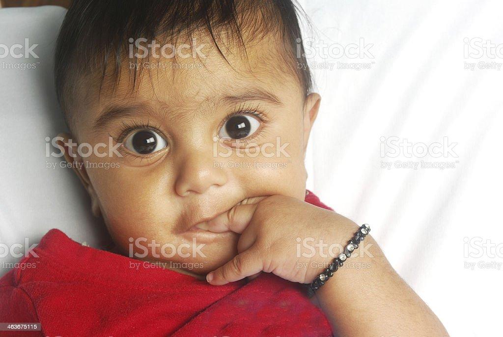 Cute Baby Boy royalty-free stock photo