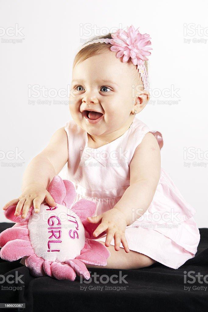 Cute baby girl royalty-free stock photo