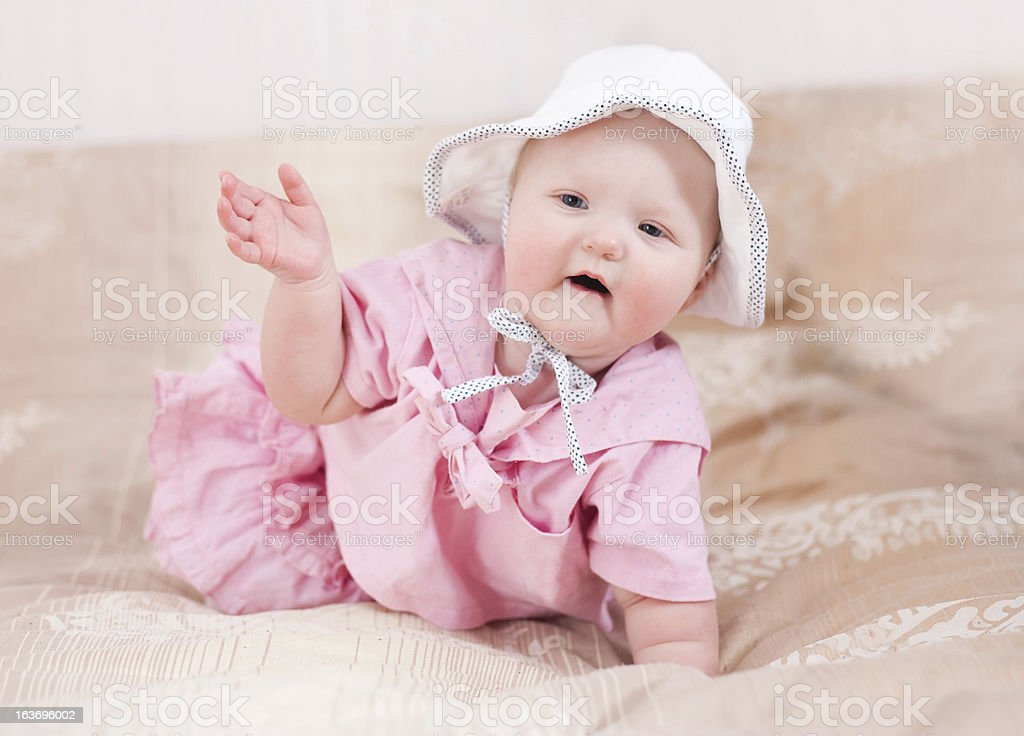 Cute Baby royalty-free stock photo
