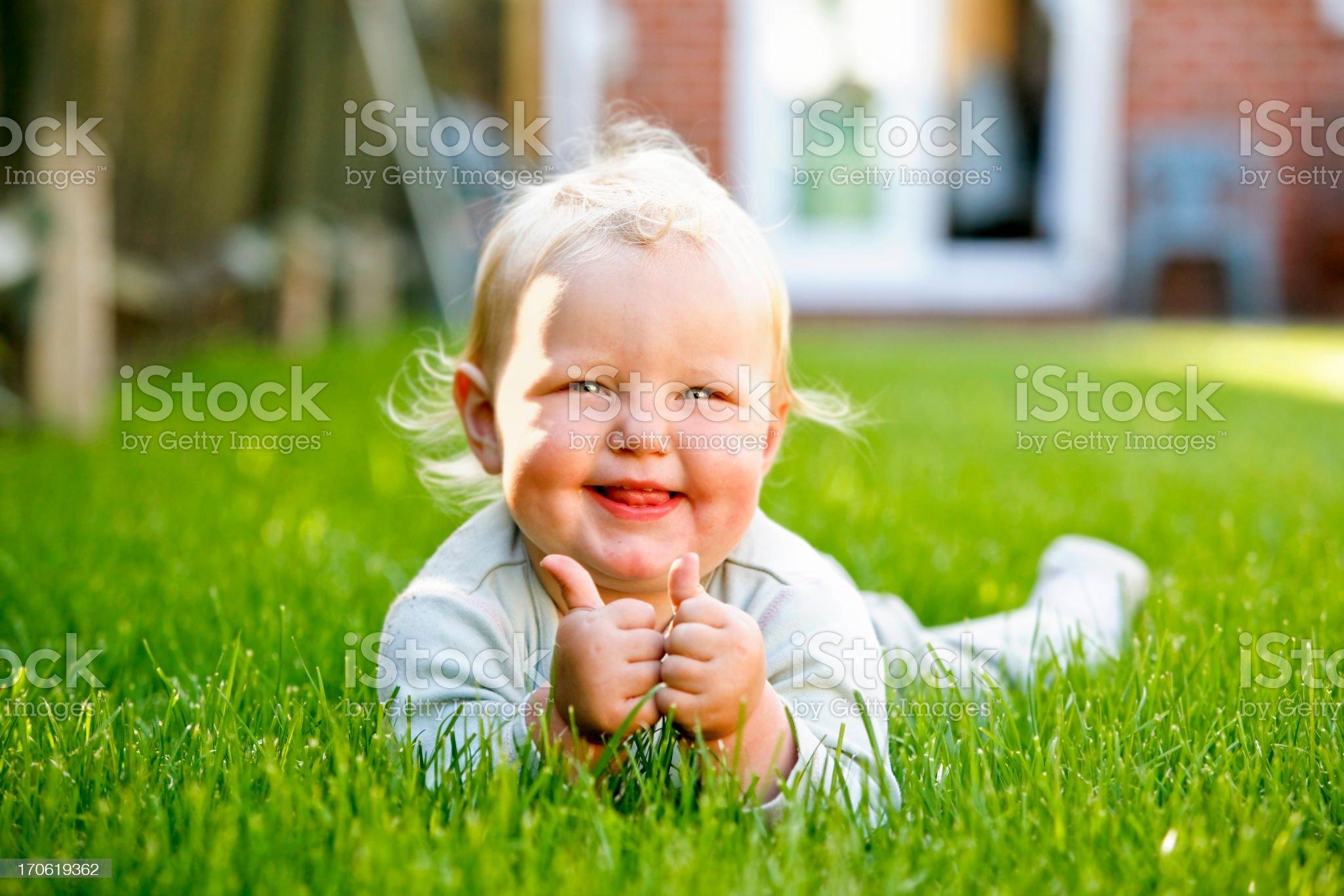 Cute Baby royalty-free stock photo
