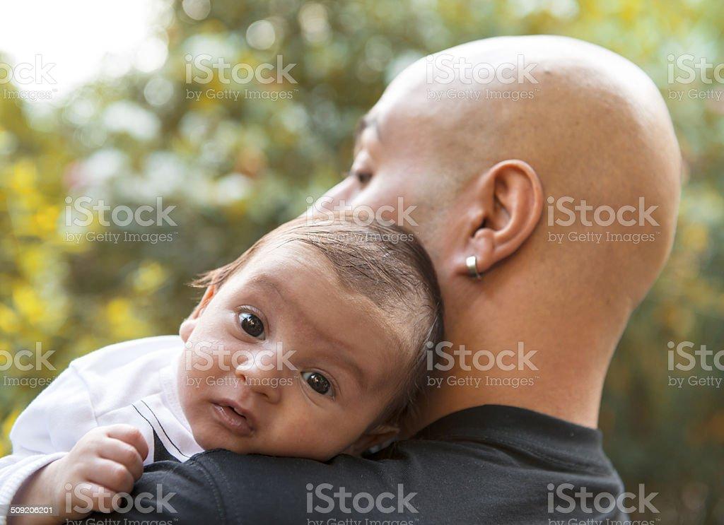 Cute Baby stock photo