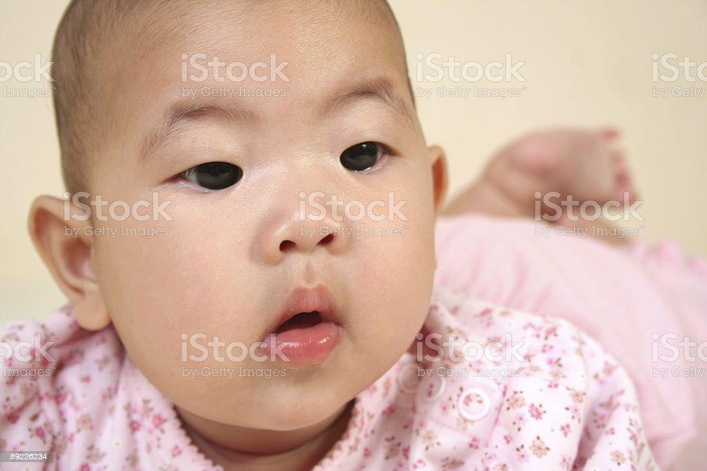 Süßes baby-(Serie Lizenzfreies stock-foto
